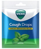 VICKS VCD BAG MENTHOL 20S COUGH DROP