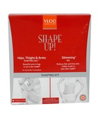 VLCC SHAPE UP HIPS,THIGHS & ARMS SHAPING GEL AND SLIMMING OIL TWIN KIT