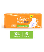 WHISPER CHOICE EXTRA LONG WINGS 6S PADS