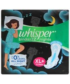 WHISPER ULTRA NIGHTS WINGS EXTRA HEAVY FLOW XL 15S