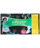WHISPER ULTRA NIGHTS 30S XL WINGS EXTRA HEAVY FLOW