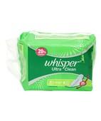 WHISPER ULTRA WINGS SANITARY NAPKEENS 8S