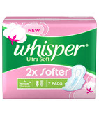 WHISPER ULTRA SOFT L WINGS 7S