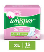 WHISPER ULTRA SOFT L WINGS 15S