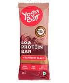 YOGA BAR PROTEIN CRANBERRY BLAST 60GM