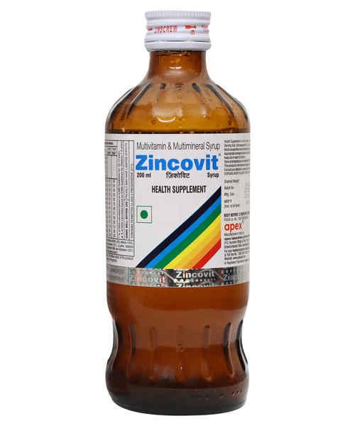 ZINCOVIT 200ML SYP