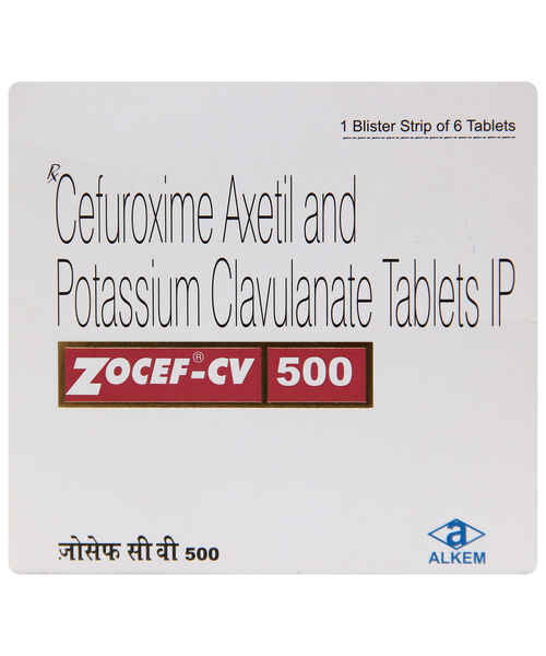 Zocef Cv 500mg Tab Alkem Laboratories Ltd Buy Zocef Cv 500mg Tab Online At Best Price In India Medplusmart