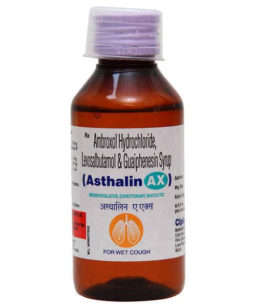 ASTHALIN AX 100ML SYP