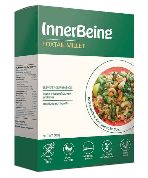 INNERBEING FOXTAIL MILLET 500GM BOX
