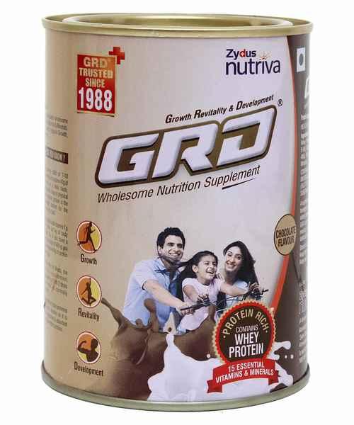 GRD CHOCOLATE 400GM TIN POWDER