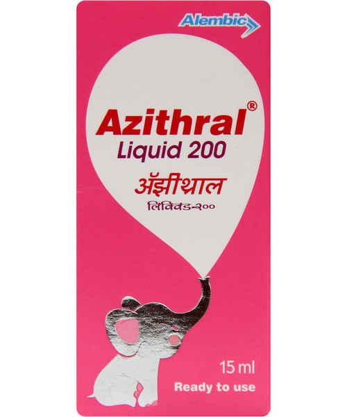 AZITHRAL 200MG 15ML SYP