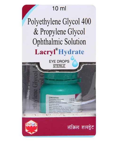 LACRYL HYDRATE EYE 10ML DROPS