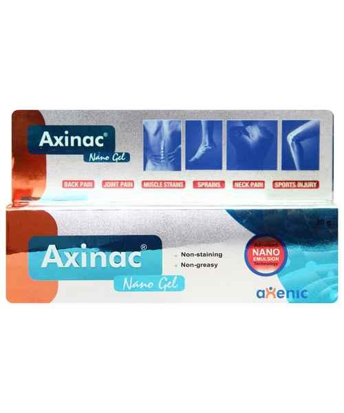 AXINAC NANO 30GM GEL