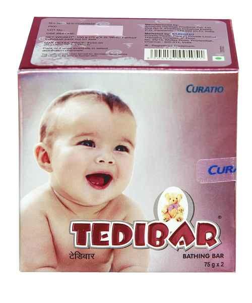 TEDIBAR 2X75GM SOAP
