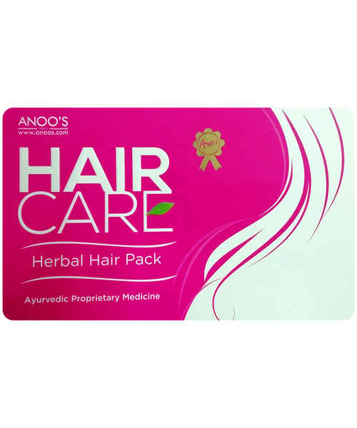 ANOO'S  HAIR CARE HERBAL HAIR PACK 100GM