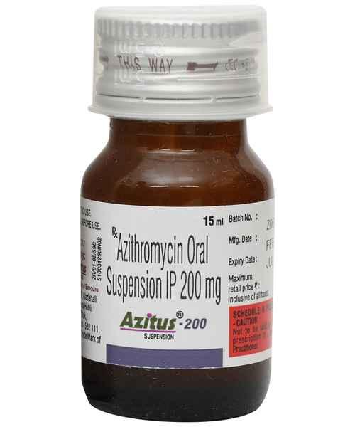 AZITUS 200MG 15ML SUSP