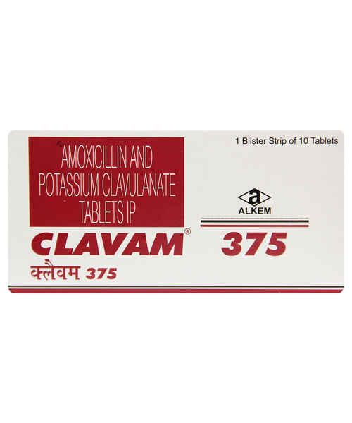 CLAVAM 375MG TAB