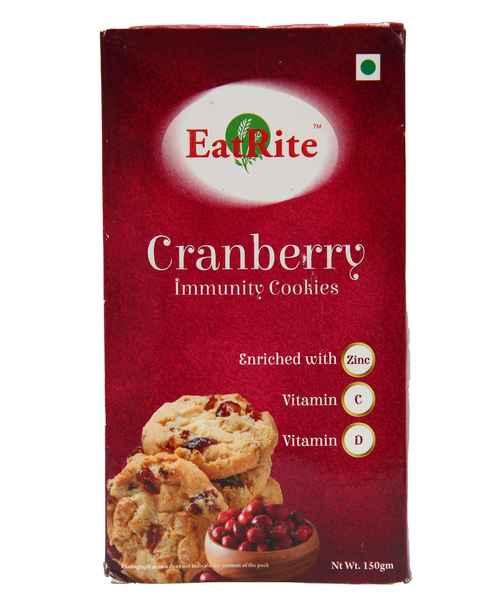 EATRITE CRANBERRY IMMUNITY COOKIES 150GM