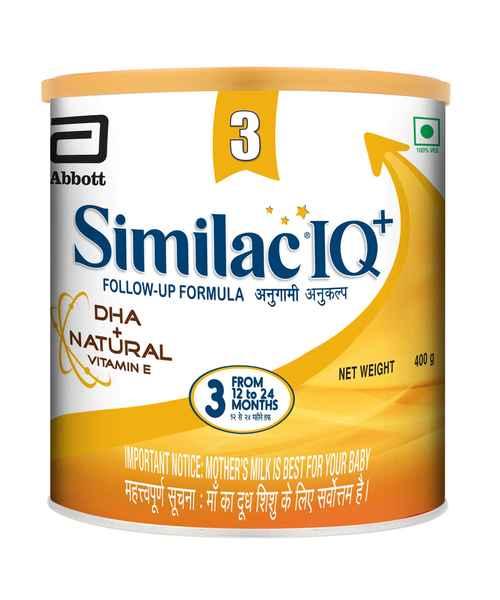SIMILAC IQ+ STAGE 3 400GM TIN