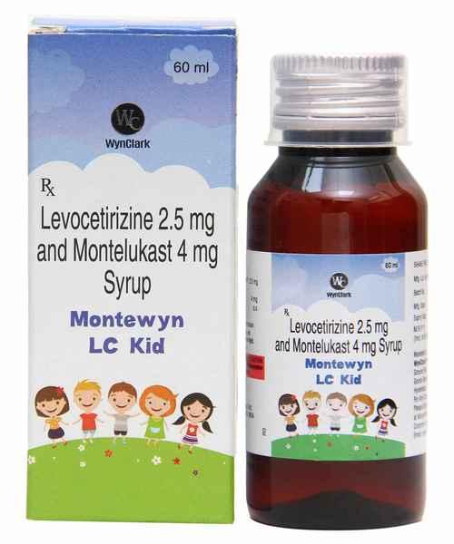 MONTEWYN LC KID 60ML SYP