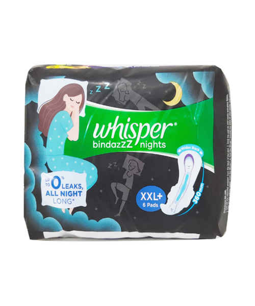 WHISPER ULTRA NIGHTS XXL WINGS 6S