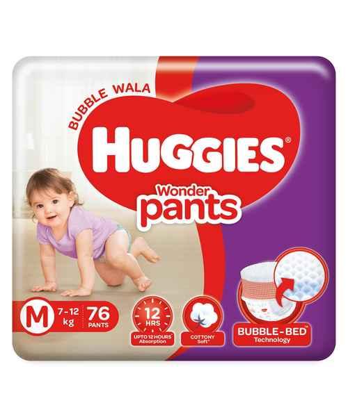 HUGGIES WONDER PANTS M 76S