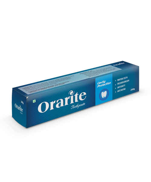 ORARITE CAVITY PROTECTION TOOTHPASTE 200GM