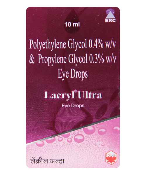 LACRYL ULTRA EYE 10ML DROPS