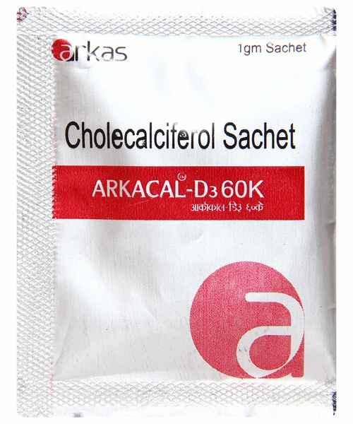 ARKACAL D3 60K 1GM SACHET