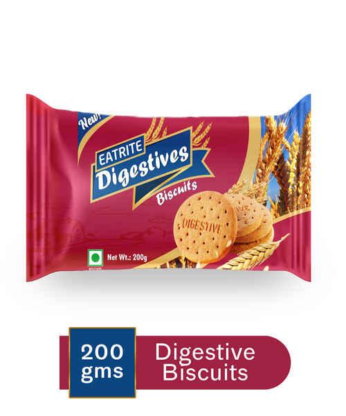 EATRITE DIGESTIVE BISCUITS 200GM