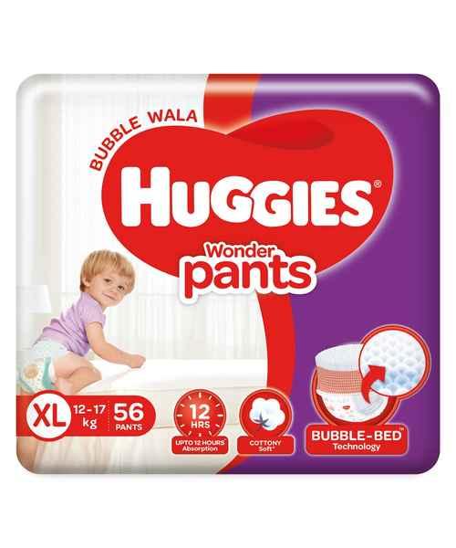 HUGGIES WONDER PANTS XL 56S