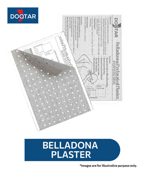 DOQTAR BELLADONA PERFORATED PLASTER