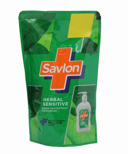 SAVLON HERBAL SENSITIVE HAND WASH REFILL 175ML