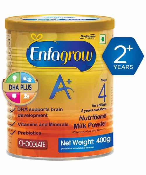 ENFAGROW A TIN CHOCOLATE POWDER 400GM