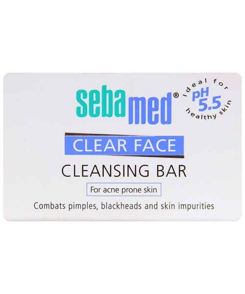 SEBAMED CLEAR FACE CLEANSING BAR 100GM