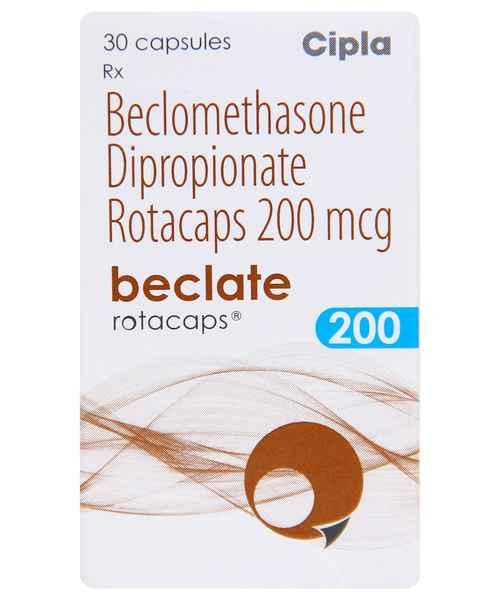 BECLATE 200MCG 30S ROTACAPS