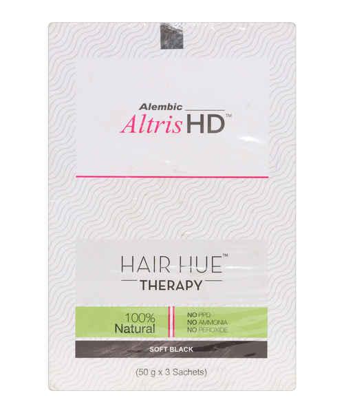 ALTRIS HD HAIR HUE THERAPY SOFT BLACK KIT