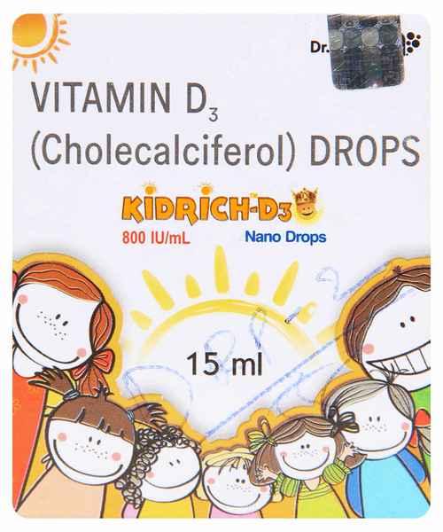 KIDRICH D3 NANO 15ML DROPS