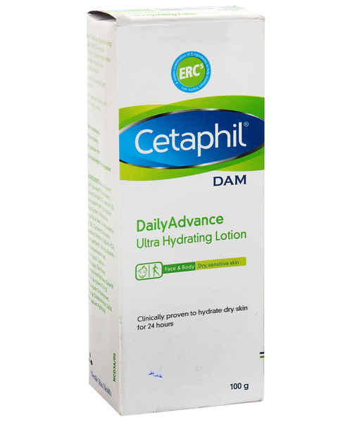 CETAPHIL DAM DAILY ADVANCE ULTRA HYDRATING LOTION 100GM