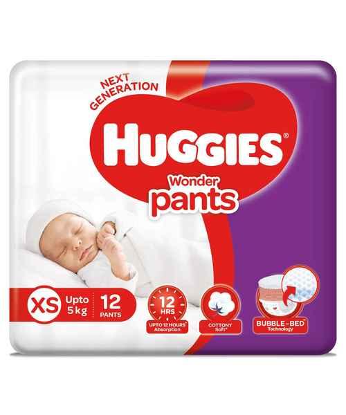 HUGGIES WONDER PANTS XS 12S