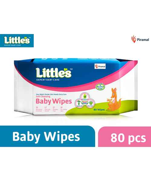 LITTLES BABY WIPES 80S