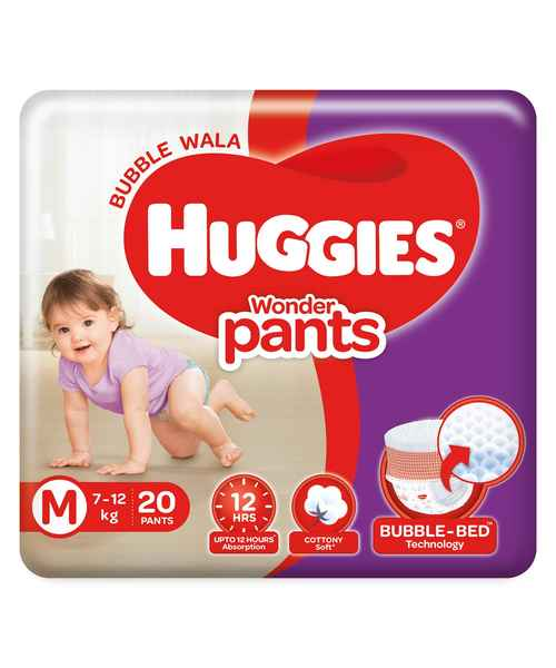 HUGGIES WONDER PANTS M 20S