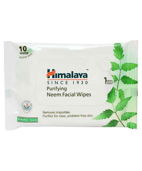 HIMALAYA PURIFYING NEEM FACIAL WIPES 10S