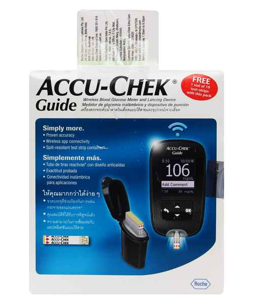 ACCUCHEK GUIDE BLOOD GLUCOSE MONITORING SYSTEM