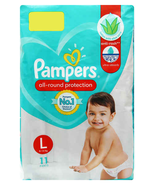PAMPERS PANTS L 11S