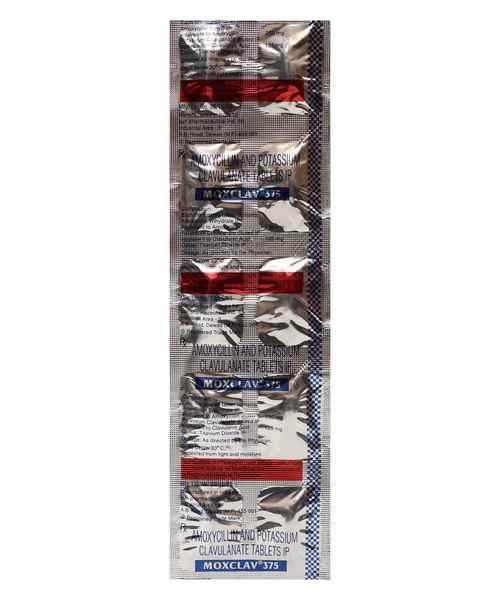 MOXCLAV 375MG TAB