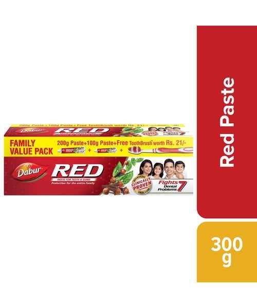 DABUR RED TOOTHPASTE 300GM