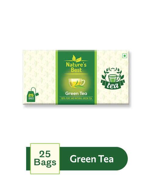 NATURES BEST GREEN TEA 25S SACHET