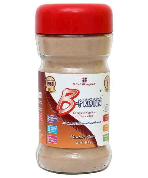 B-PROTIN CHOCOLATE 200GM POWDER