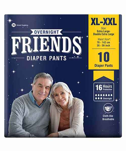 FRIENDS ADULT PANTS XLARGE - XXL 10'S